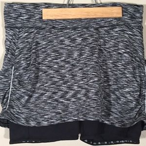 Athleta skort gray heathered sz. L